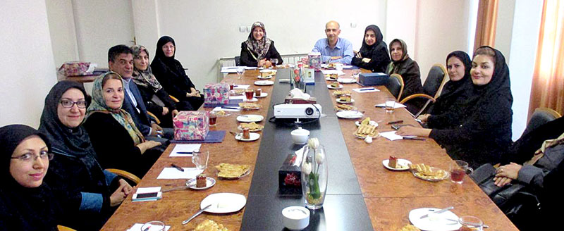 اولین جلسه هیئت مدیره دوره پنجم انجمن علمی سرطان های زنان چهارشنبه 6 خرداد 1394